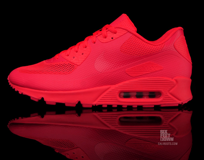 Nike Air Max 90 Femme Hyperfuse Rouge Fluo Pas Cher France