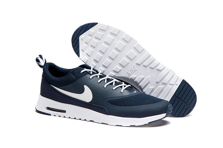 discount shop cheap prices best sneakers Nike Air Max Thea Homme Print Deep Bleu Blanc à Vendre Chaussures ...